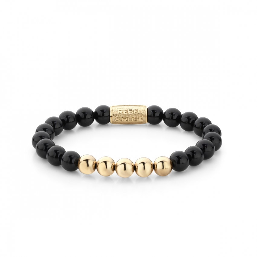 Black Panther - 8mm - yellow gold plated