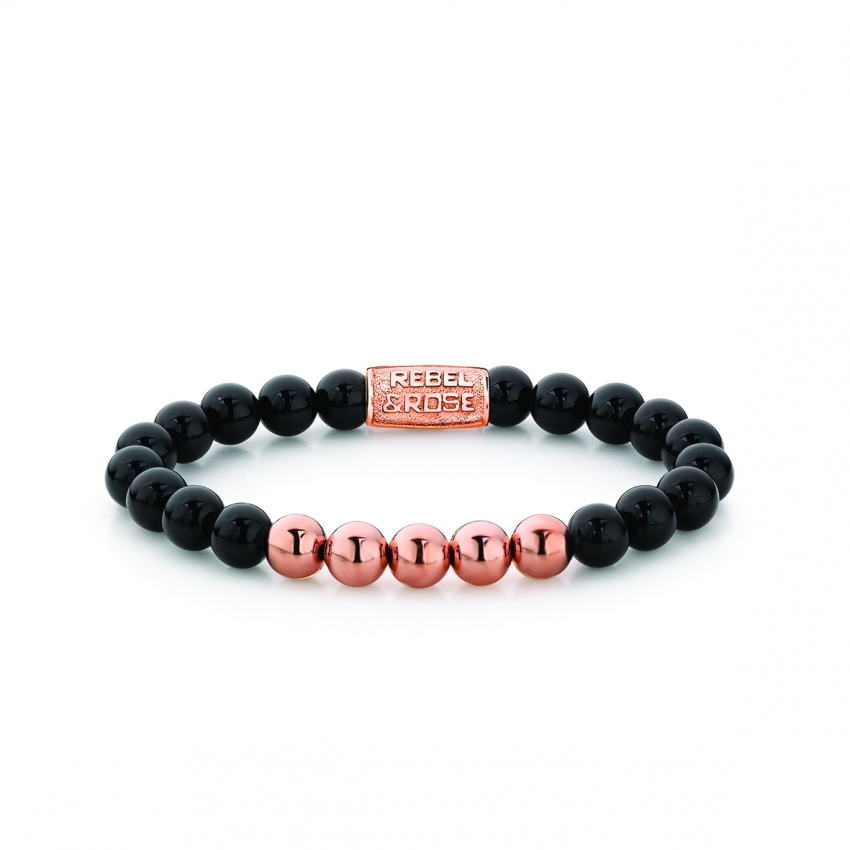 Black Panther - 8mm - rose gold plated